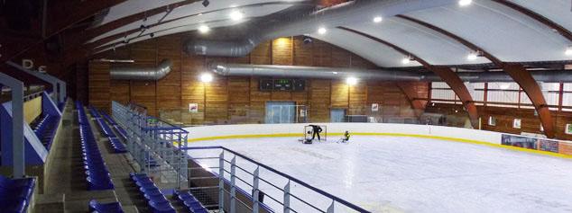 La patinoire de Roanne s'équipe en éclairage LED