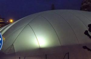Ligue de Paris de tennis - Éclairage LED Projectio Sport